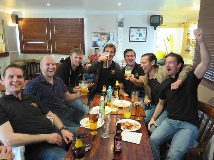 1s celebrating vital win