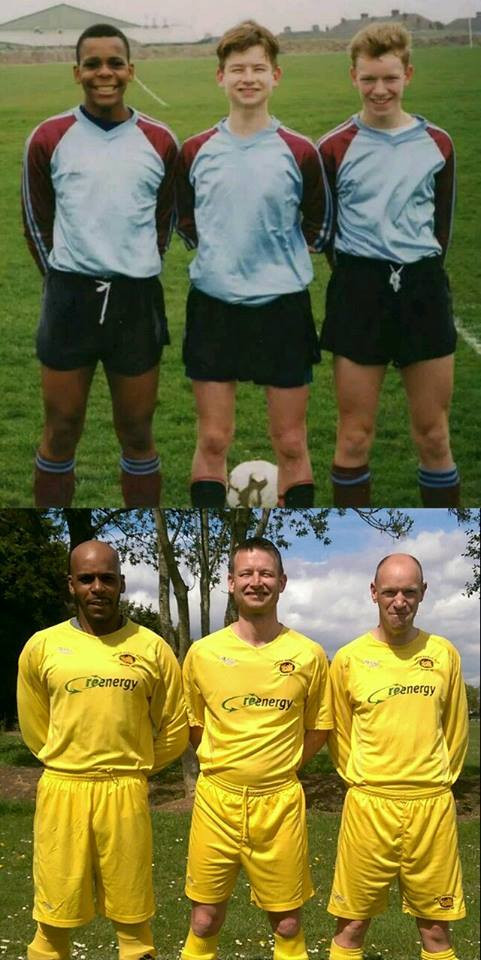 Then and now the 3 amigos