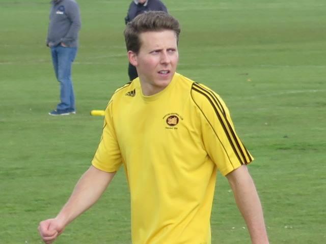 Current Top Goal Scorer Tom Benham with 12