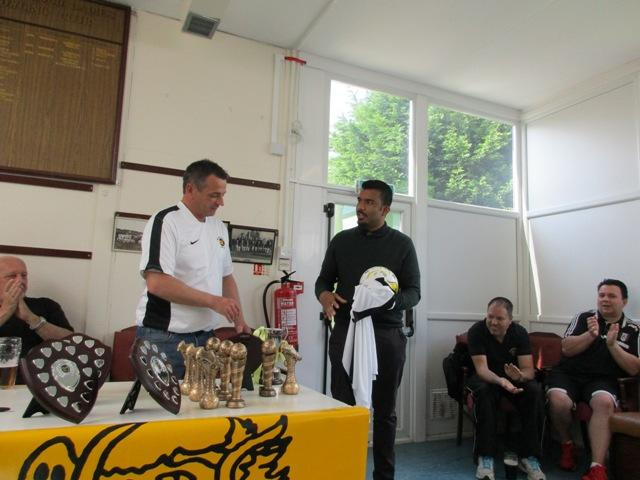 Youth Awards - Under 9s Manager Mat