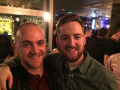Darren Fitzgerald and Dan Rist at the Wandle for Ryan Gresty's birthday - both scored their first goals for Merton today. Dan's was a screamer from the halfway line, Darren's a clinical finish in the bottom corner. Well done lads!!