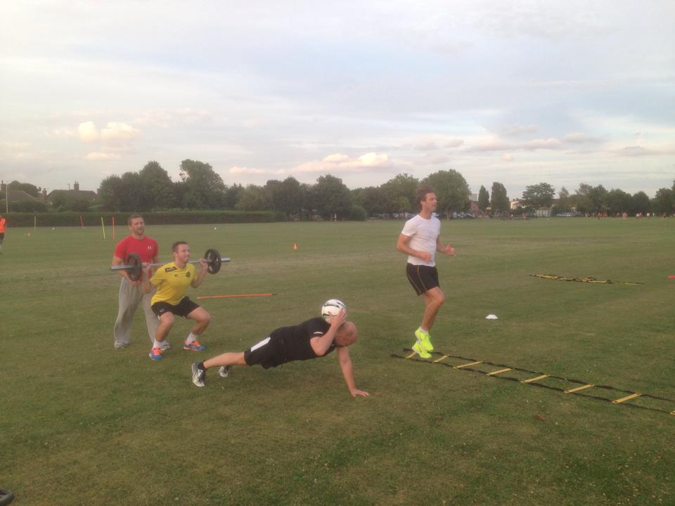 Pre Season Training 2014