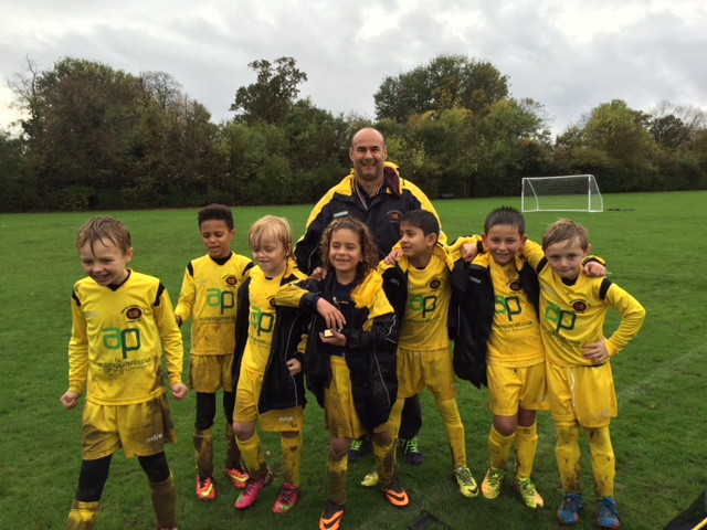 Under 8s Friendly – 2nd November 2014