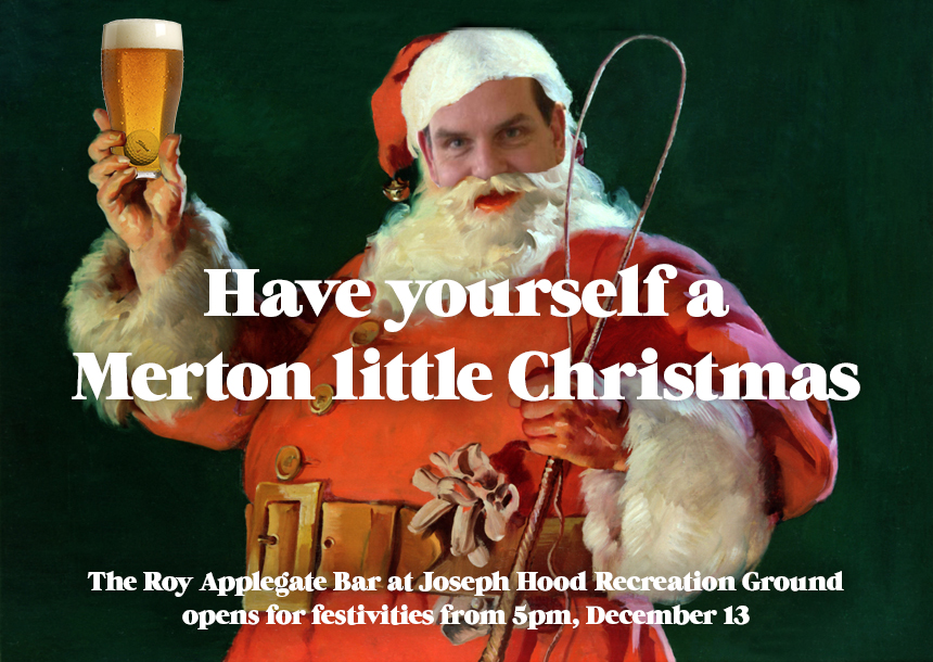 Merton FC Christmas Drinks Event