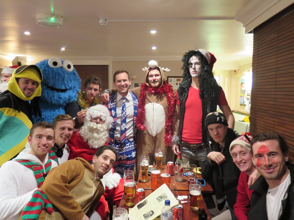 Merton Christmas Drinks 13.12.14