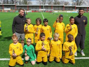 Under 10s SYL Africa Cup Winners