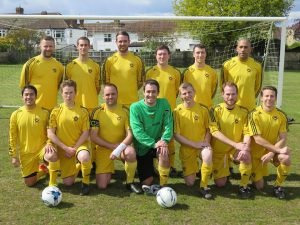 """The Merton 3s dream team of 2014/2015, Nick bottom row, second from left"""