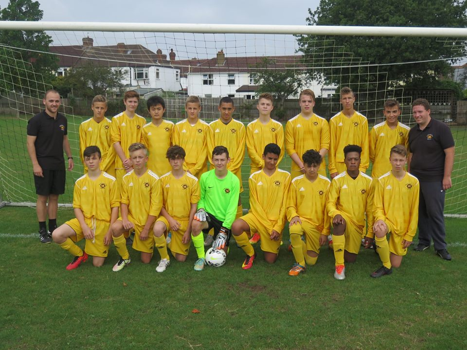 Youth Results – 18-09-16