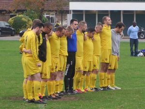 The 3s stand in tribute to Nick and remember him.