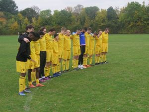 The 1s silent at the start of their game.