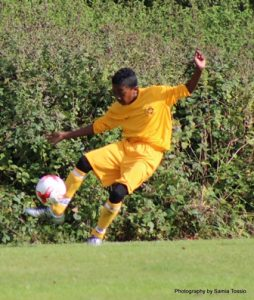Kadeem, first goal of his Merton FC career.
